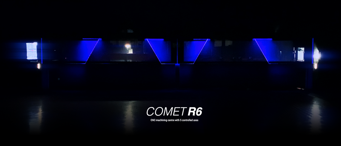 The workshop of tomorrow with the Comet R6 models