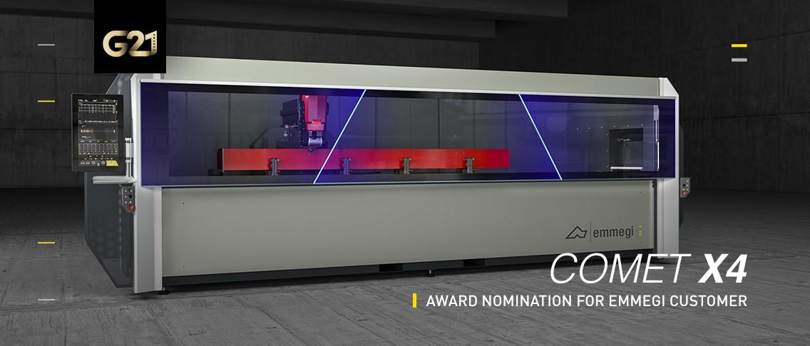 Award Nomination For Emmegi Customer Emmegi