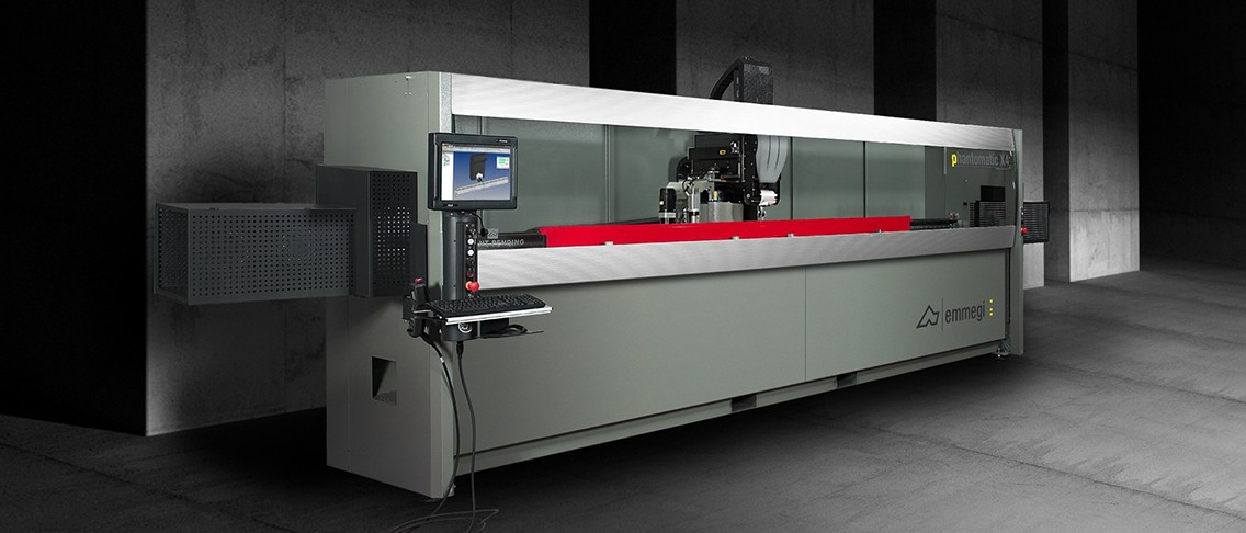 Emmegi desarrolla su nuevo centro de mecanizado Phantomatic X4