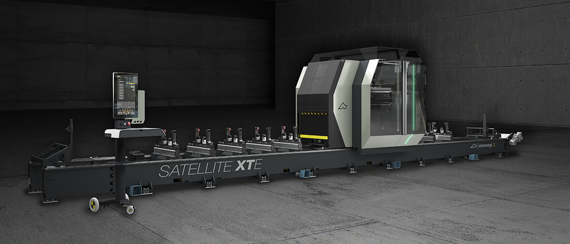 Satellite XTE: the new 5-axis machining centre