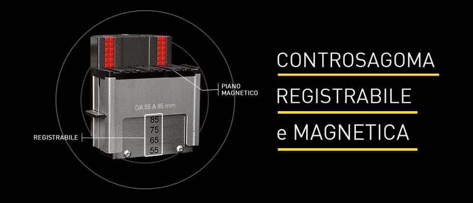 Controsagoma Magnetica e Registrabile