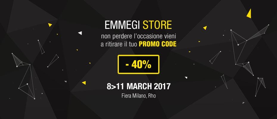 Emmegi Store Promo Code -40 Made Expo 2017 Vieni a ritirarlo
