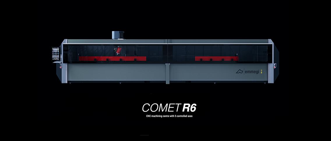 L'officina del domani con i modelli Comet R6 en