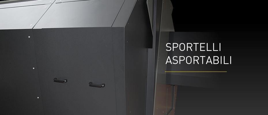 Nuova Cabina Integrale Sportelli Asportabili