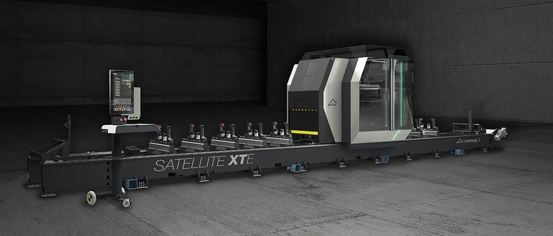 Satellite XTE Centro di lavoro a 5 assi en es