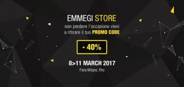Emmegi Store Ritira a MADE EXPO il tuo Promo Code Emmegi