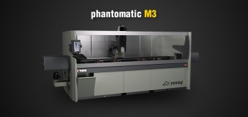 Scopri Phantomatic M3! Centro di lavoro CNC a 3+1 assi  Emmegi