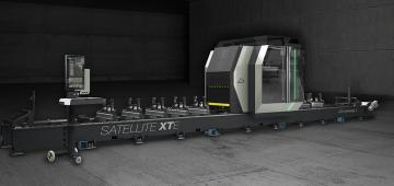 Satellite XTE: il nuovo centro di lavoro a 5 assi Emmegi