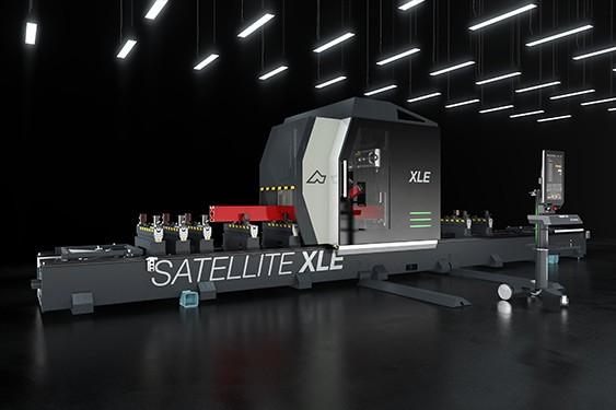 Bearbetningsmaskiner Satellite XLE Emmegi