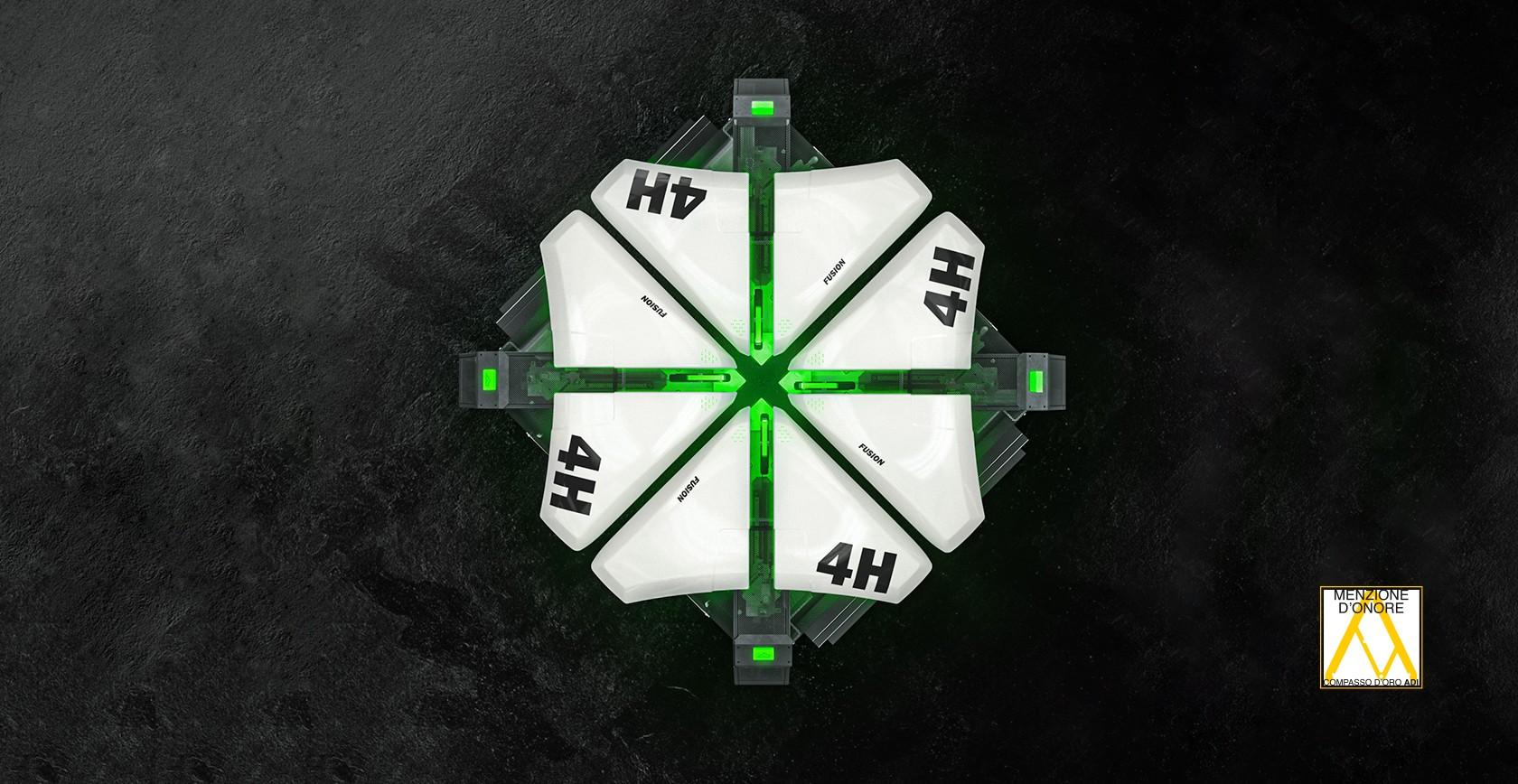 Fusion 4H Menzione D'Onore ADI Design