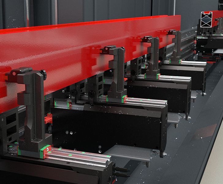 Machining Centres Comet S6 HP Clamp positioner Emmegi