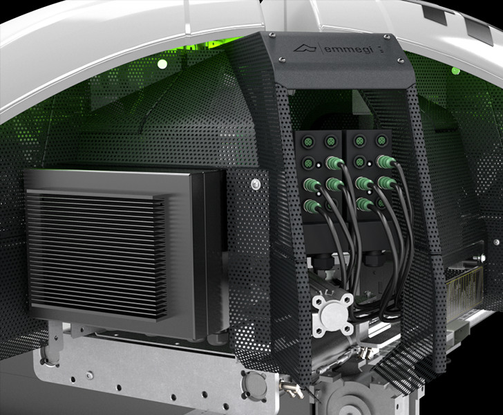 Schweißmaschinen Fusion 4H Anschlusssystem auf Field Bus Emmegi