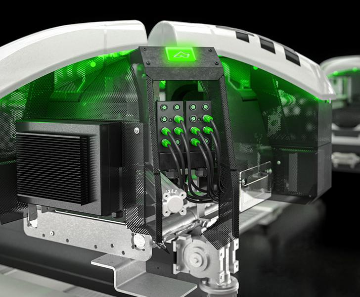 Saldatrici Fusion 4H Sistema di connessione su field Bus Emmegi