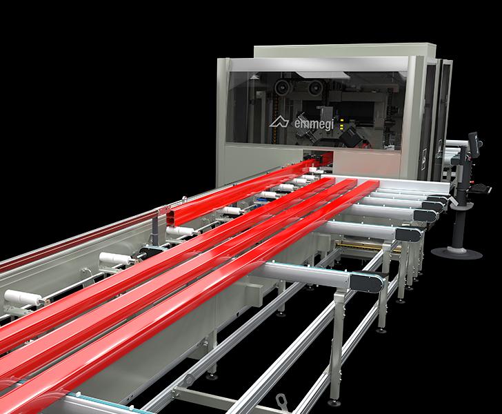 Quadra L3 Automatic bar feed and workpiece unloading Emmegi