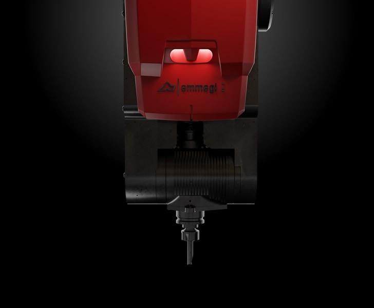 Bearbetningsmaskiner Comet X4 Styrka och flexibilitet för motorspindeln Emmegi 2