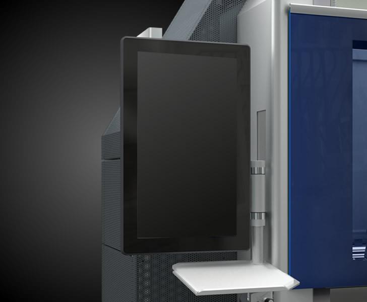 Centri di lavoro Comet X4 Interfaccia Touch Emmegi 1