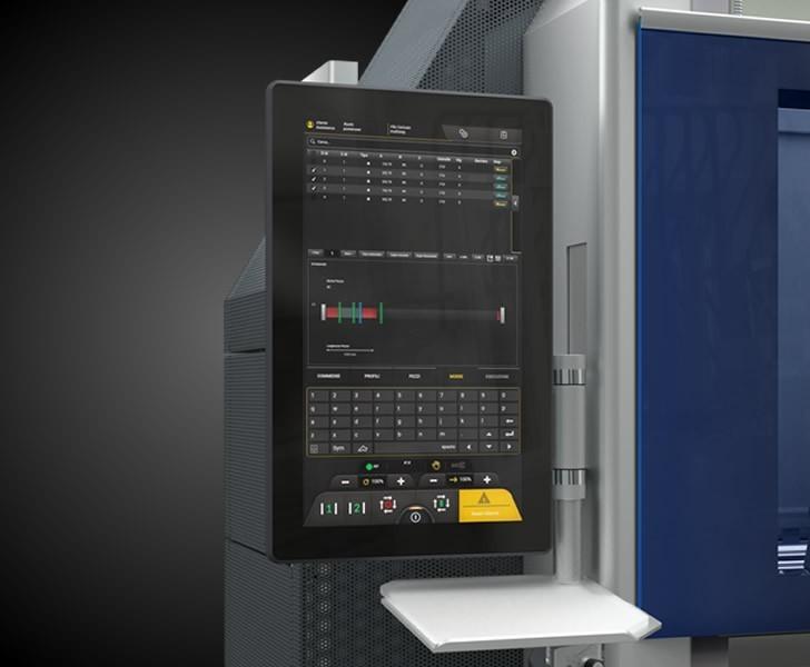 Machining Centres Comet S6 HP User interface Emmegi 2