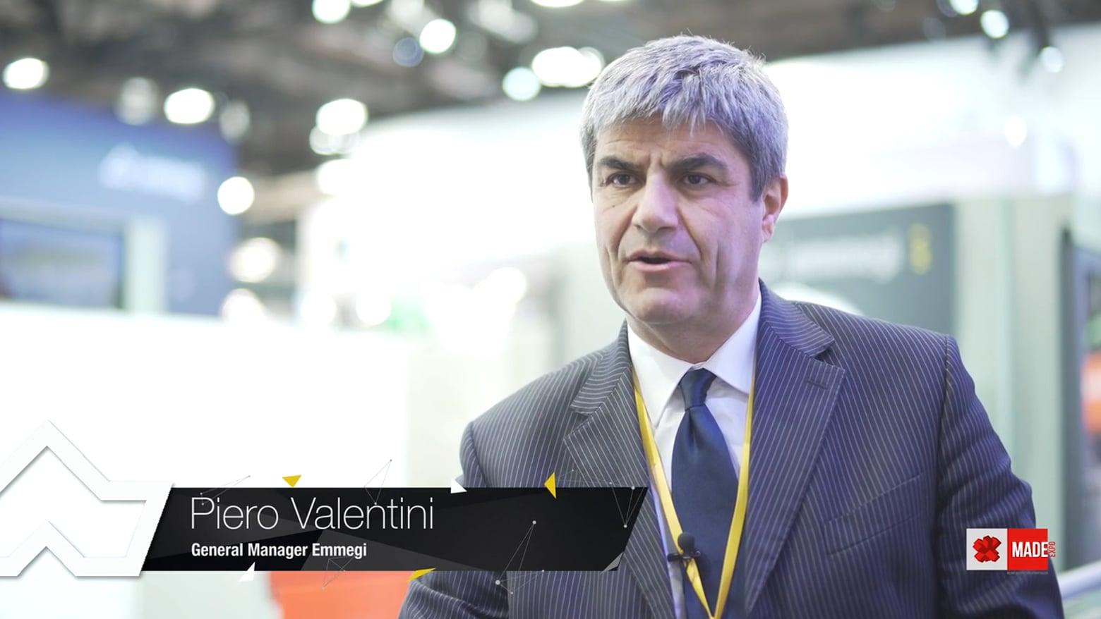 Emmegi al Made: visione del business e innovazione (Piero Valentini) Emmegi