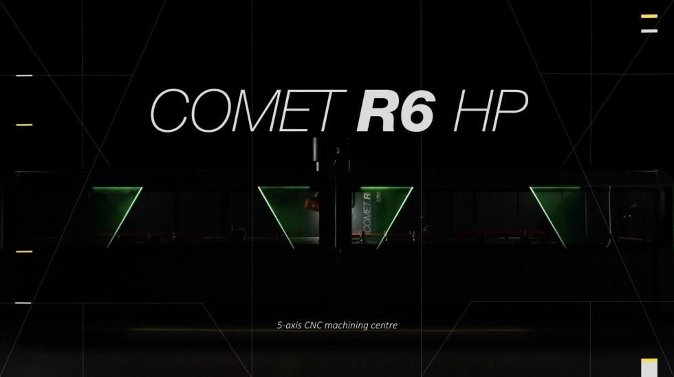Centri di lavoro Comet R6 HP Comet R6 HP Emmegi