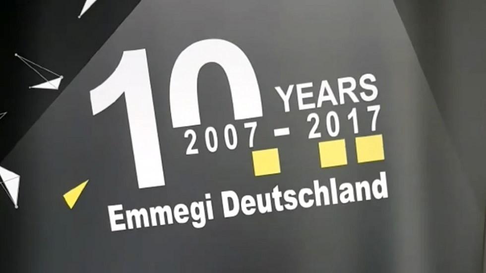 10 Jahre Emmegi Deutschland GmbH  Emmegi