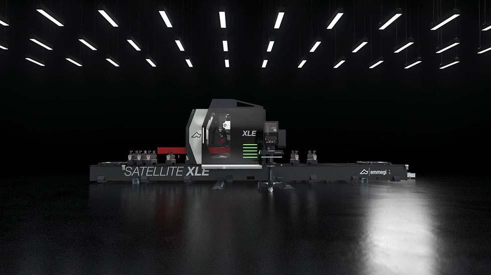 Satellite XLE 360° Rotation Emmegi